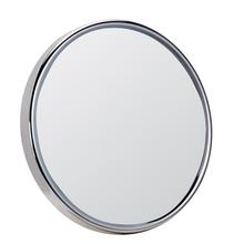 Achat en ligne Miroir rond à ventouses face grossisante X10 diamètre 18cm
