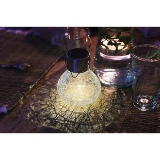 Lampe solaire LED 11cm x ø9,5cm
