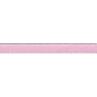 VENGO - Bobine de galon tiret rose layette - 2m