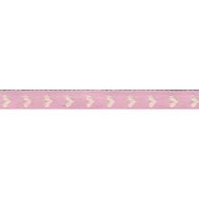 Achat en ligne Bobine de galon à cœur rose layette 2 m