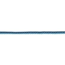 Achat en ligne Cordon torsadé bleu turquoise 2m