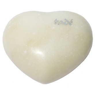 TADE - Galet de massage en marbre blanc