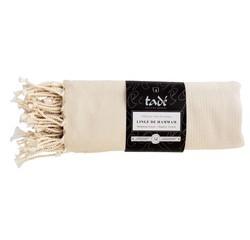 Achat en ligne Linge de hammam 100x180cm en coton ivoire