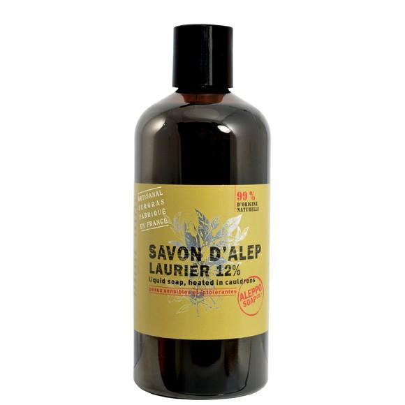 Achat en ligne Savon d'alep liquide 12% laurier 1L