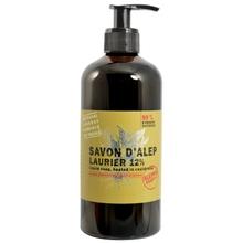 Achat en ligne Savon d'alep liquide 12% laurier 500ml