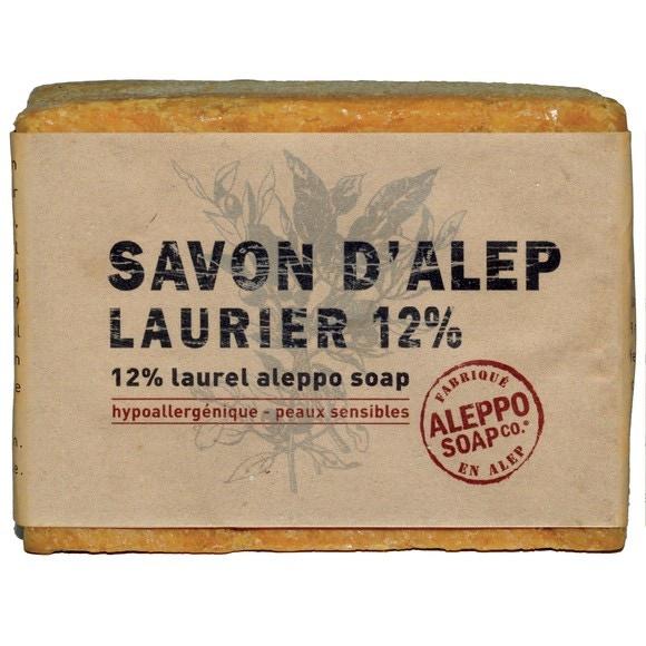 Savon d'alep 12% olive et laurier 200gr