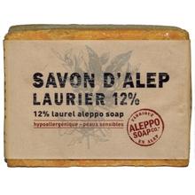 Achat en ligne Savon d'alep 12% olive et laurier 200gr