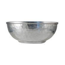 Achat en ligne Bol hammam en aluminum martlelé diamètre 15XH6cm