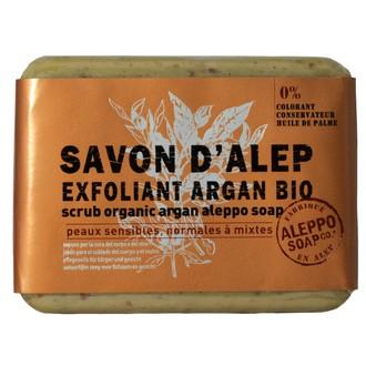 Tade - savon d'alep bio - exfoliant à l'argan - 100gr