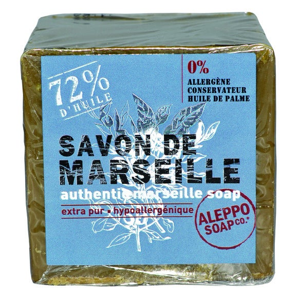 Achat en ligne Cube de savon de Marseille 300g