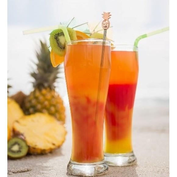 4 mélangeurs ananas cuivrés
