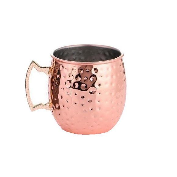 Achat en ligne Mug cocktail moscow mule cuivre martelé