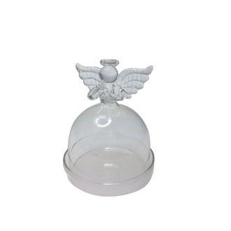Mini bonbonnière ange en verre