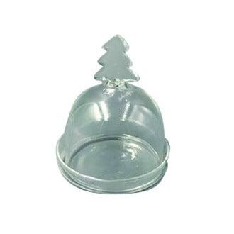 Mini bonbonnière sapin en verre