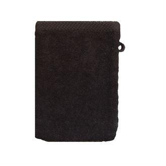 Zodio - gant de toilette en coton éponge réglisse