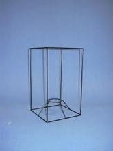 Achat en ligne Carcasse carrée droite à suspendre Epoxy 15x15x25cm