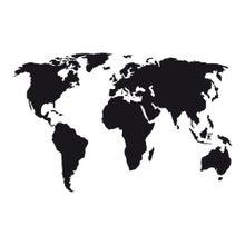 Achat en ligne Sticker mural planishphère noir 48x70cm