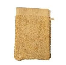 Achat en ligne Gant de toilette en coton éponge bio jaune