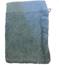 Achat en ligne Gant de toilette en coton éponge bio bleu tempête