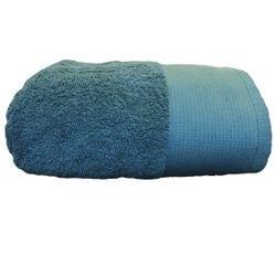 Achat en ligne Serviette de douche 70x140cm en coton éponge bio bleu tempête
