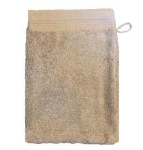 Achat en ligne Gant de toilette en coton éponge bio cendre