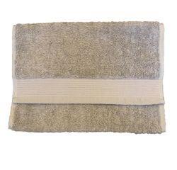 acquista online Asciugamano ospite in cotone bio grigio 30x50cm