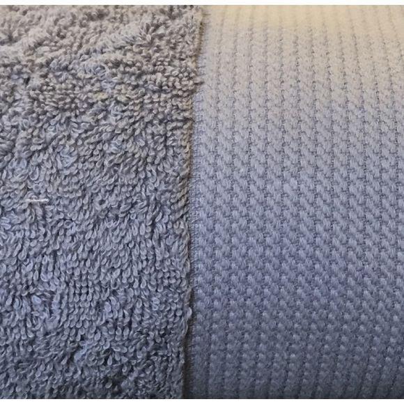 Serviette de douche 70x140cm en coton éponge bio cendre
