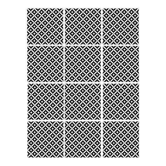 Achat en ligne Sticker autocollant noir 48x70cm