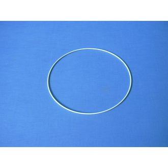 Cercle nu Rislan blanc de diamètre 6cm