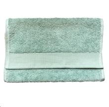 Achat en ligne Serviette invité 30x50cm en coton éponge bio jade