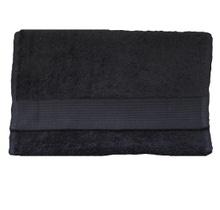 Achat en ligne Serviette invité 30x50cm en coton éponge bio denim