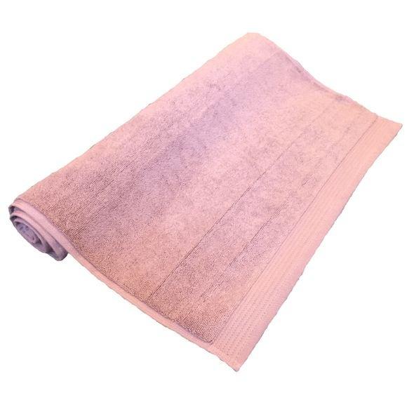 Tapis de bain en éponge biologique violet clair 50x80cm