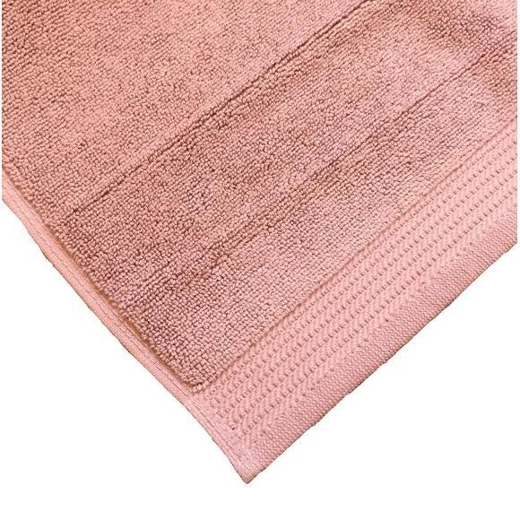 Tapis de bain en éponge biologique violet clair 50x80cm Pas cher - Zôdio
