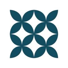 Achat en ligne Lot 4 stickers carreaux ciment Croisillons bleu 10x10cm