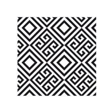 Achat en ligne Lot 4 stickers carreaux ciment Art déco gris 10x10cm