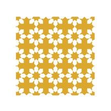 Achat en ligne Lot 4 stickers carreaux ciment Fleur beige 10x10cm
