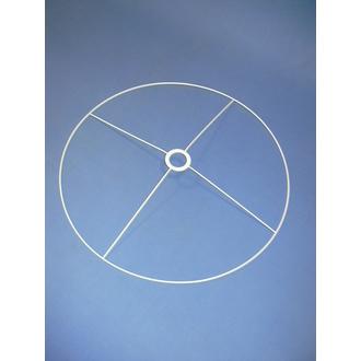 Cercle bagué blanc 55cm