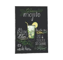 Achat en ligne Affiche recette mojito k.marlier 30x40cm