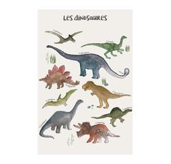 Achat en ligne Affiche les dinosaures k.marlier 40x50cm