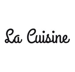 Achat en ligne Sticker la cuisine noir 26x10cm