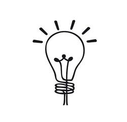Achat en ligne Sticker interrupteur ampoule noir 10x10cm