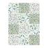 12 stickers terrazzo vert 48x70cm