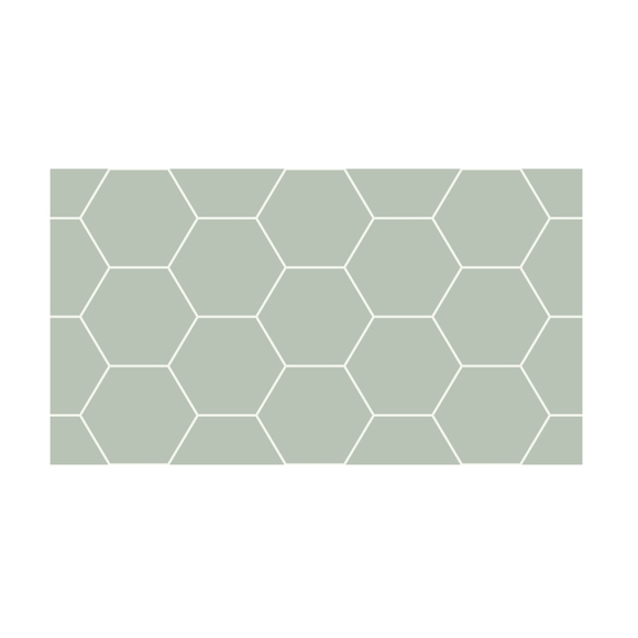 Achat en ligne 3 stickers crédence nid d'abeille 45x25cm