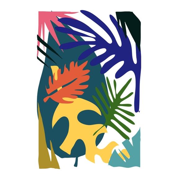 Achat en ligne Affiche jungle amory 50x70cm