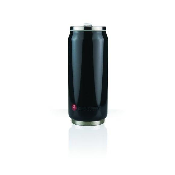 Lattina termica nera in inox 54cl