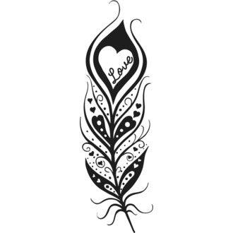 ALADINE - E Tampon plume love
