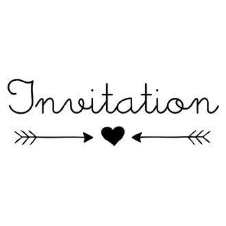 ALADINE - C Tampon invitation