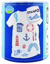 Achat en ligne Set de tampons pour textile navy