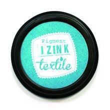 Achat en ligne Encreur textile Izink turquoise pastel