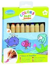 Achat en ligne Set de 6 crayons de couleurs Jumbo 12,5x1,5cm